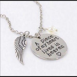 Heavens memorial necklace